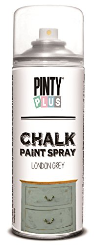 unique-chalk-paint-spray-water-based-shabby-chic-18-vintage-colours-400ml-london-grey