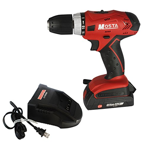 Best Prices! Mosta Cordless Impact Drill/Driver 18V Lithium-Ion-LT18SB2A One Batteries
