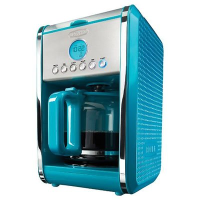 Bella Dots 12-Cup Programmable Coffeemaker - Teal