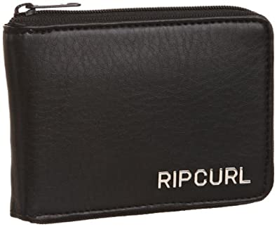 rip curl zip wallet portefeuille et porte monnaie homme noir v 6 taille unique. Black Bedroom Furniture Sets. Home Design Ideas