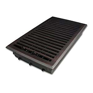 6 X 12 Oil Brushed Bronze Contemporary Floor Vent