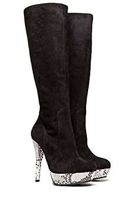High-Heels-Stiefel: SHOETATION High Heel Stiefel Robyn Snake, Gr.: 39