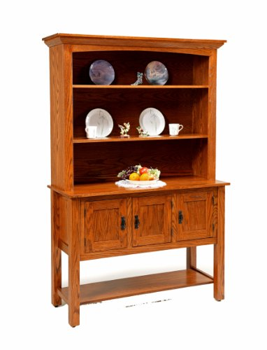 Buy Low Price Amish Furniture House Amish USA MadeTimeless Buffet with Hutch Top – AND-CC447 (B003YD2AQW)