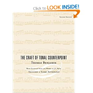 The Craft of Tonal Counterpoint Thomas Benjamin