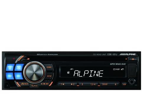 ALPINE(アルパイン) iPod/CDヘッドユニット CDE-121J