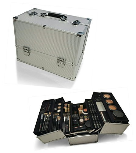 oi-labelstm-silver-chrome-large-lockable-double-opening-portable-make-up-cosmetic-organiser-storage-