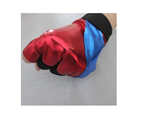 [NEW!! Batman Comic Suicide Squad Harley Quinn Joker Costume Party Cosplay Glove] (Dark Knight Costumes Real)