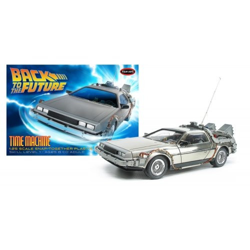Polar Lights Back to The Future: Time Machine Model Kit (1:25 Scale) (Delorean Model Kit compare prices)