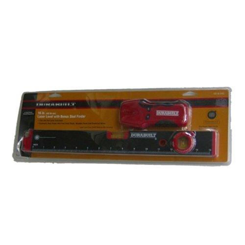 """Durabuilt Tool Set With Stud Finder And 16"""" Laser Level"""
