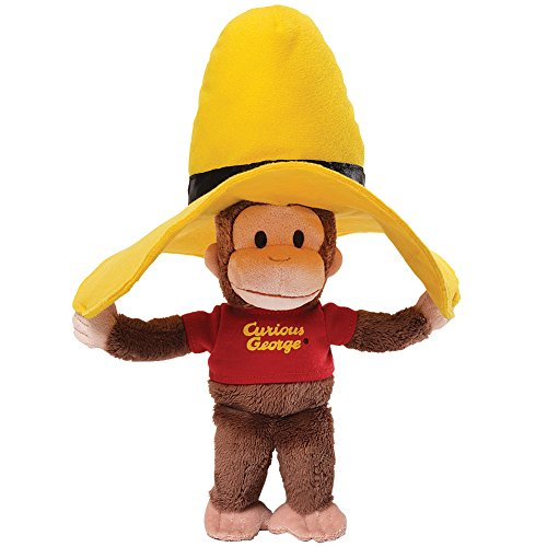 Curious George In Yellow Hat Plush - Stuffed Animal Monkey With Shirt front-836403
