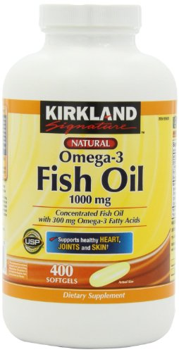 Kirkland Signature Fish Oil front-581580