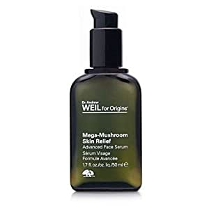 Dr. Andrew Weil for Origins Mega-Mushroom Skin Relief Advanced Face Serum 1.7 oz (Qunatity of 1)