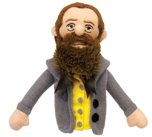 Herman Melville Finger Puppet and Refrigerator Magnet - By The Unemployed Philosophers Guild