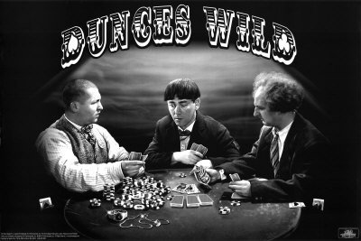 Three Stooges poker - dunces wild