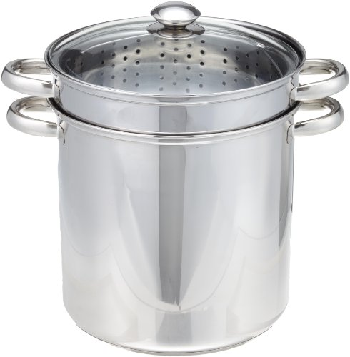 Excelsteel 12 Quart 18/10 Stainless Steel 4 Piece