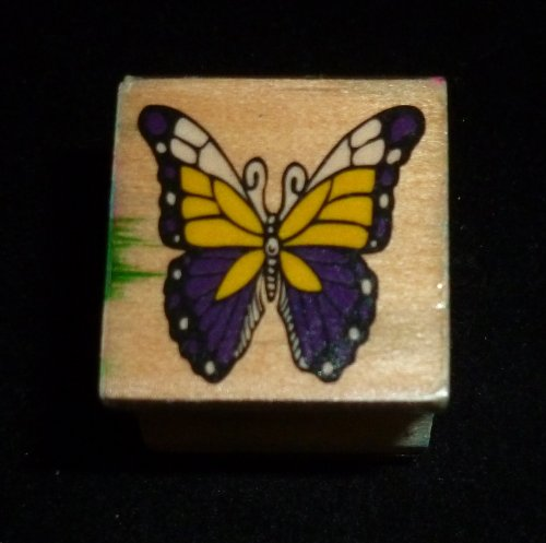 Tiny Butterfly Rubber Stamp - 1