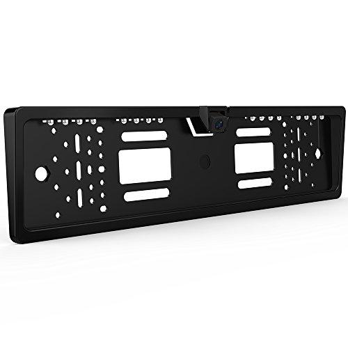8-LED-Kfz-Kennzeichen-Rckfahrkamera-GOGO-Roadless-170-Grad-HD-Betrachtungswinkel-Auto-hintere-Ansicht-Kameras-mit-Nachtsicht-IP68-Wasserdicht-Einparkhilfe-Rckfahr-Kamera-System