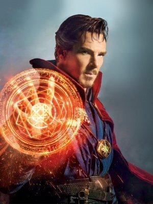 DOCTOR STRANGE, motivo: Benedict Cumberbatch-US Textless importati Poster da parete del film, 30 X 43 cm, colore: rosa