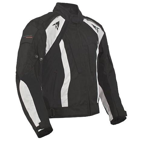 Roleff Racewear 2046 Blouson Moto Rhodes, Noir, XXL