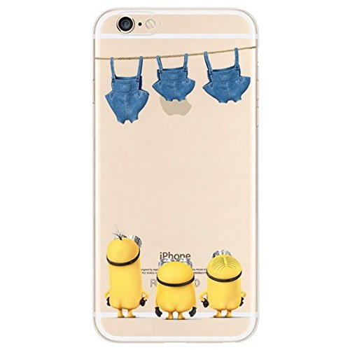 iPhone-6S-Case-Pannovo-Despicable-Me-Minions-Case-Soft-Flexible-TPU-Transparent-Skin-Scratch-Proof-Protective-Case-Cover-for-47-iPhone-6iPhone-6S
