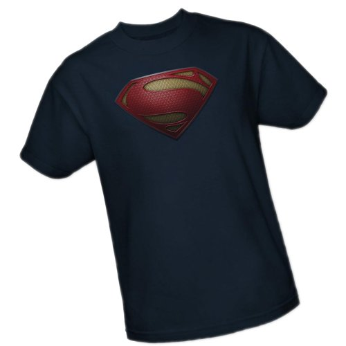 Costume Superman Shield -- Man of Steel Movie Youth T-Shirt