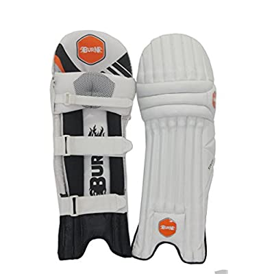 Burn Sixer Right Hand Batting Leg Guards-Mens