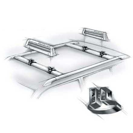 Yakima Vertical Mighty Mounts - Set of 4, 29V (Yakima Roof Rack Snowboard compare prices)