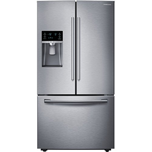 Samsung RF28HFEDBSR Energy Star 28 Cu. Ft. French Door Refrigerator with Cool Select Pantry and Freezer Drawer, Stainless Steel