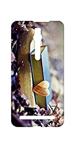 Vogueshell Books Printed Symmetry PRO Series Hard Back Case for Asus Zenfone 2