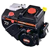 Briggs & Stratton 7.5 HP Intek Snow Engine - 1-Inch Diameter x 2-27/64-Inch Length Crankshaft 12D412-0009-E1 (Discontinued by Manufacturer)