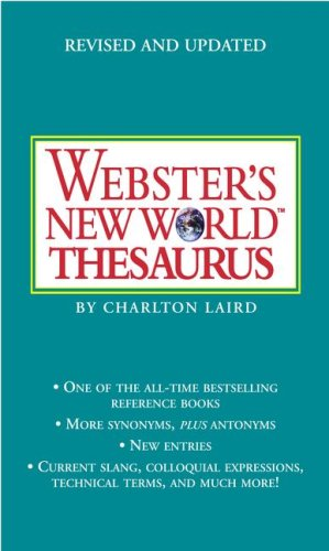 PROPWebster's New World Thesaurus: Third Edition