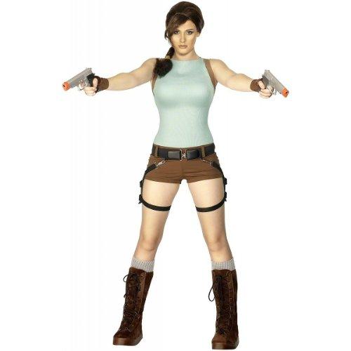 Smiffys Lara Croft Anniversary Costume (Medium)