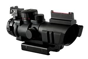 Aim Sports 4X32 Dual III. Scope with Fiber Optic Sight