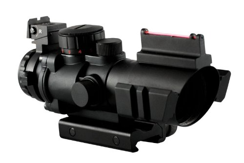 Aim Sports 4X32 Dual III. Scope  Fiber Optic