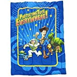 Toy Story Full Comforter 3-d with a Pair of 3d Glasses