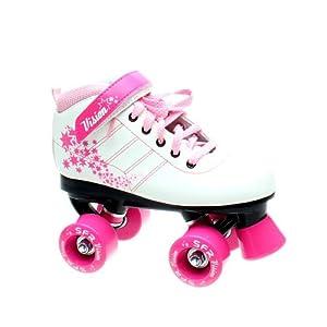 SFR Vision Girls Junior Quad Roller Skates - Pink - Jnr11