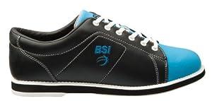 BSI Women's Classic  Bowling Shoe, Black/Blue, 7