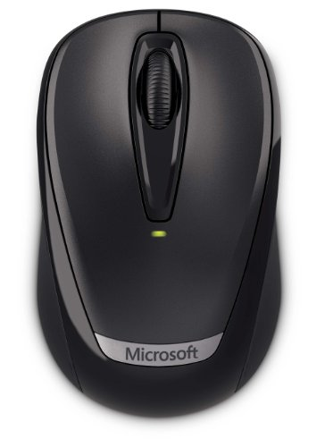 マイクロソフト ワイヤレス マウス L2 Wireless Mobile Mouse 3000 v2 Mac/Win USB Port Black 2EF-00037
