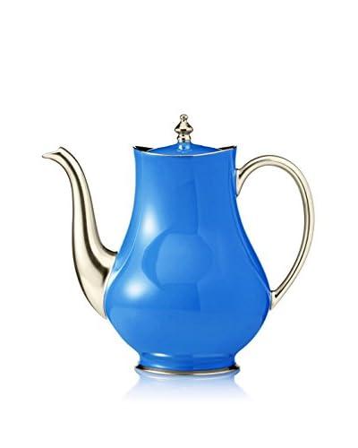 Haviland Laque de Chine Coffee Pot, Azure/Platinum