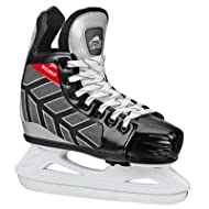 Lake Placid Boy's Wizard 400 Adjustable Ice Hockey Skate