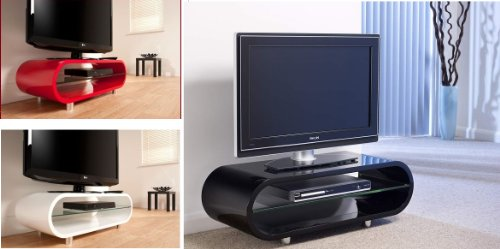 EDGE CURVE GLOSS TV UNITS/COFFEE TABLES -AVAILABLE IN WHITE Black Friday & Cyber Monday 2014