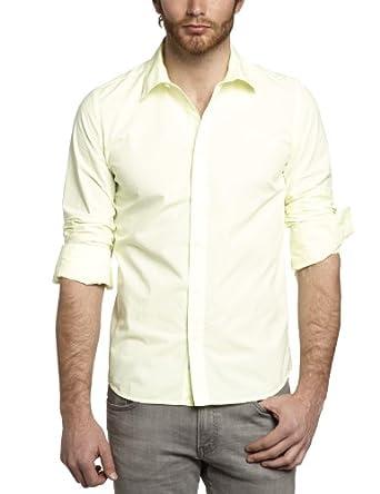 Kaporal - chemise - homme - jaune (neoyel) - XX-Large
