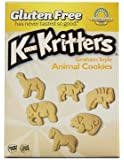 Kinnikinnick Gluten Free Graham Style KinniKritter Animal Cookies - Box /8 oz.