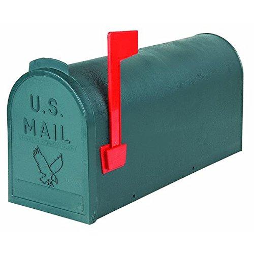 Flambeau-T-R4505GR-Standard-Classic-Mailbox-Rural-Style-1-Green
