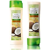 Oriflame Nature Secrets Shampoo & Conditioner For Dry And Damaged Hair Wheat & Coconut