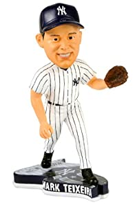 MARK TEXIERA Pennant Base Bobble Home New York Yankees by Forever Collectibles