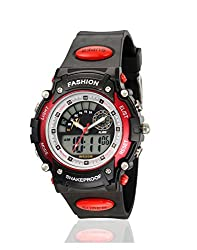 Yepme Mans Analog Digital Watch - Black
