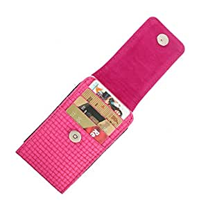 DooDa PU Leather Pouch Case Cover With Magnetic Closure For Lava iris 506Q