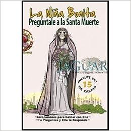 """Set De Libro Y Cartas Del Oráculo De Adivinación: """"Pregúntale a La Santa Muerte"""" (Holy Death in"""