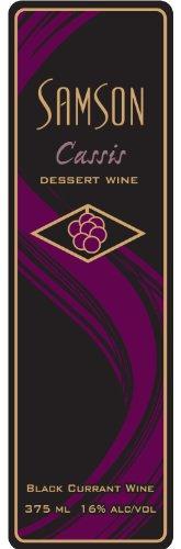 Nv Samson Estates Winery Cassis Wine 375 Ml